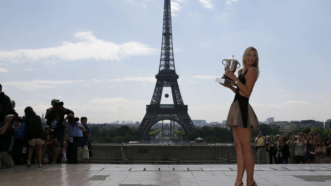 Volvió a triunfar en París en el 2014 ganando a Simona Halep en la final.