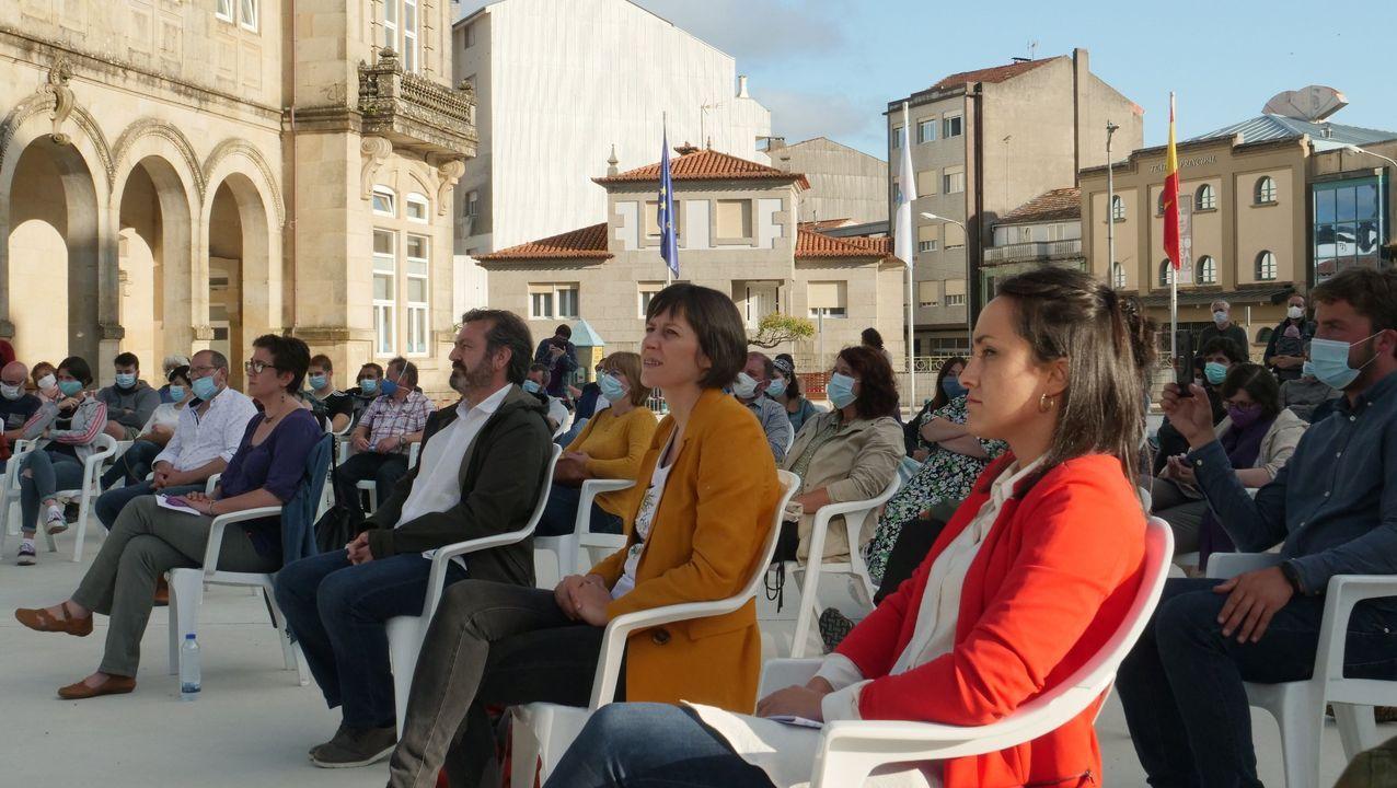 Samil, parcelado por el covid-19.Pleno del Parlamento de Galicia en una imagen de archivo