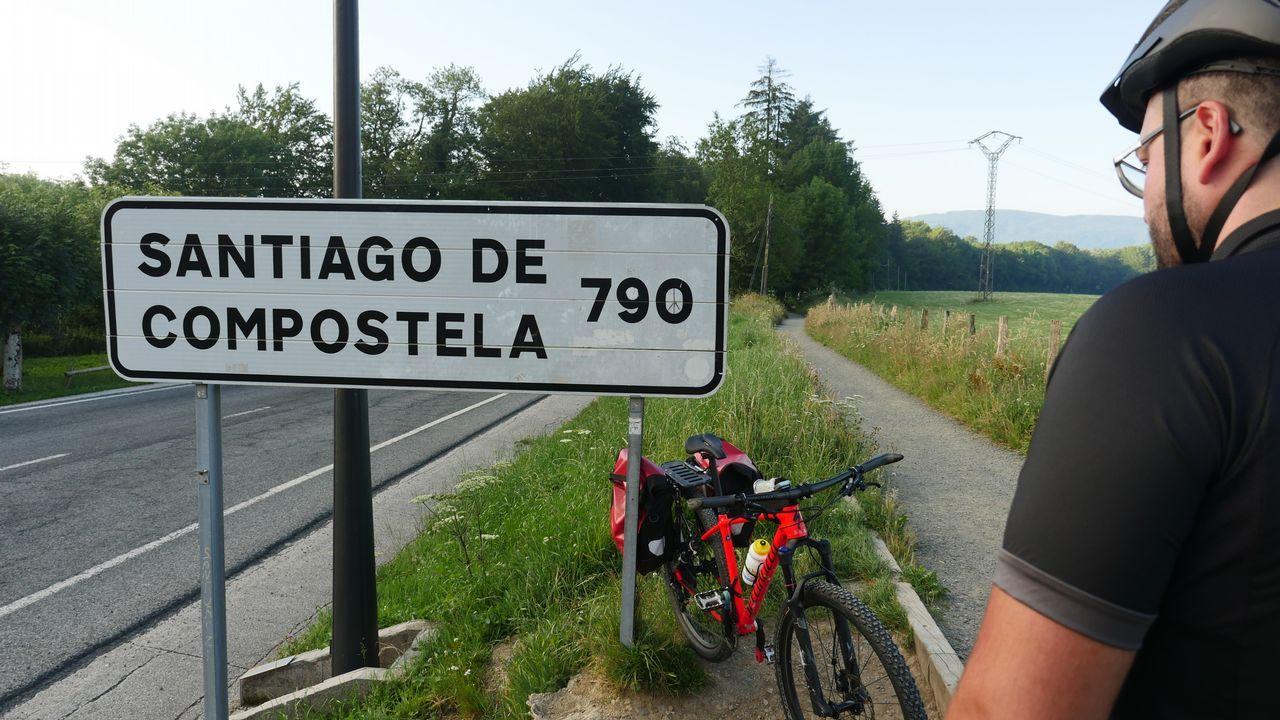 Aquí, en Roncesvalles (Navarra), empieza la aventura