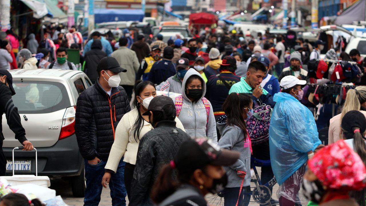 La flexibilización de la cuarentena en Bolivia ha ocasionado significativas afluencias de personas