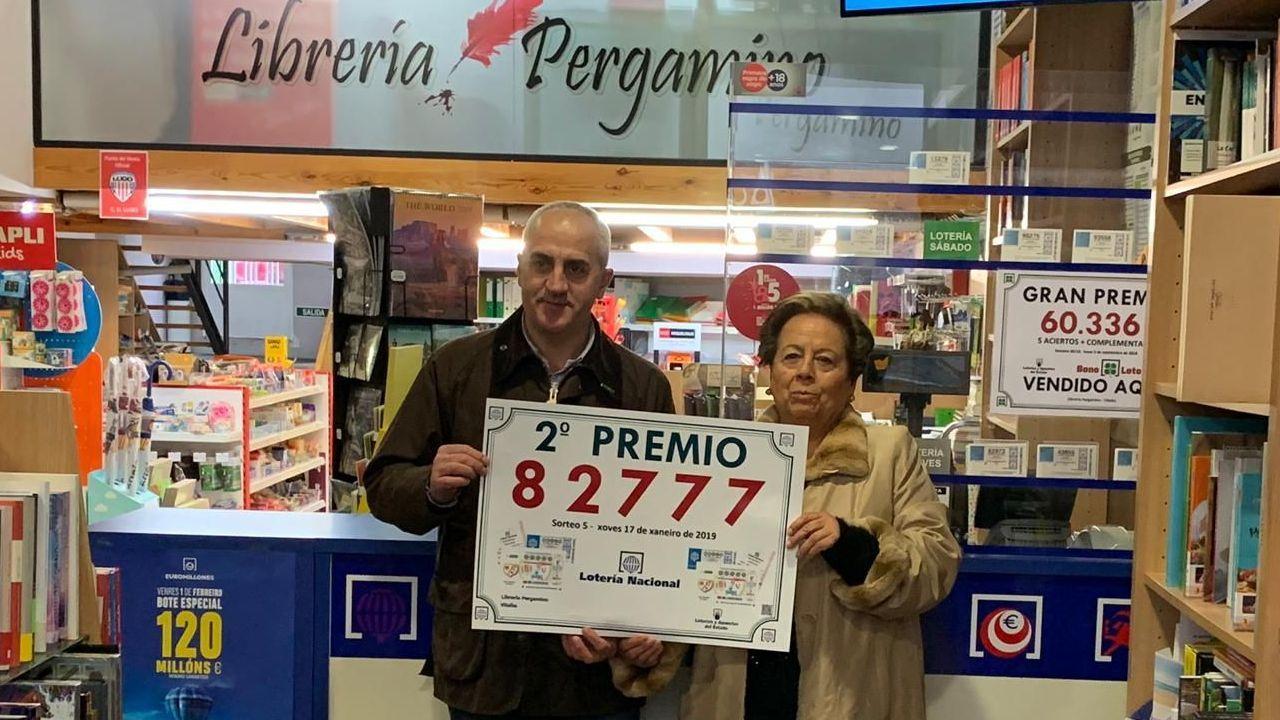 Dinero.La Lotería Nacional deja en Oviedo parte del primer premio y el segundo íntegro