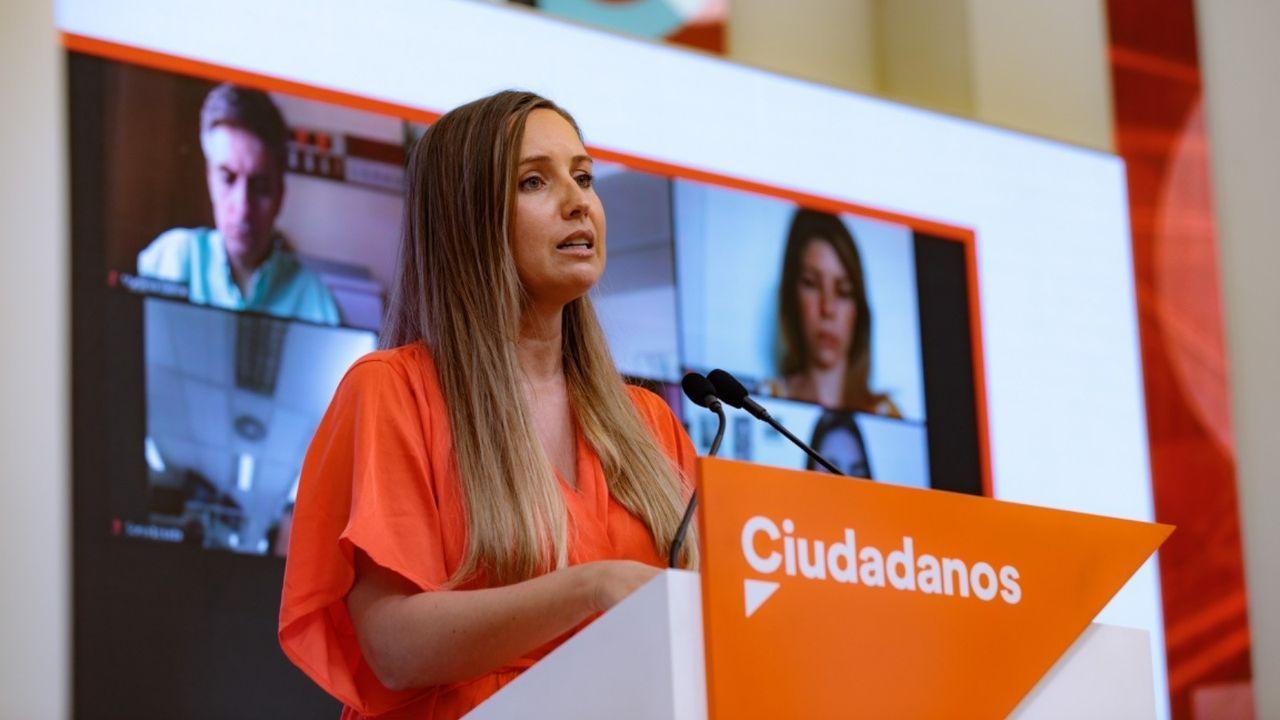 Melisa Rodríguez, portavoz de la Ejecutiva de Cs