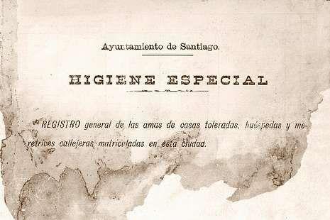 <span lang= es-es >Higiene especial</span>. El titular del registro de 231 páginas que se conserva en el Archivo Histórico Universitario es tan eufemístico que por sí solo ya invita a su lectura.