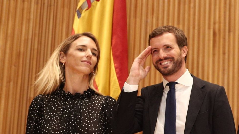 Villegas (Ciudadanos) y Cristiano Brown (UPyD) en una foto de abril del 2019