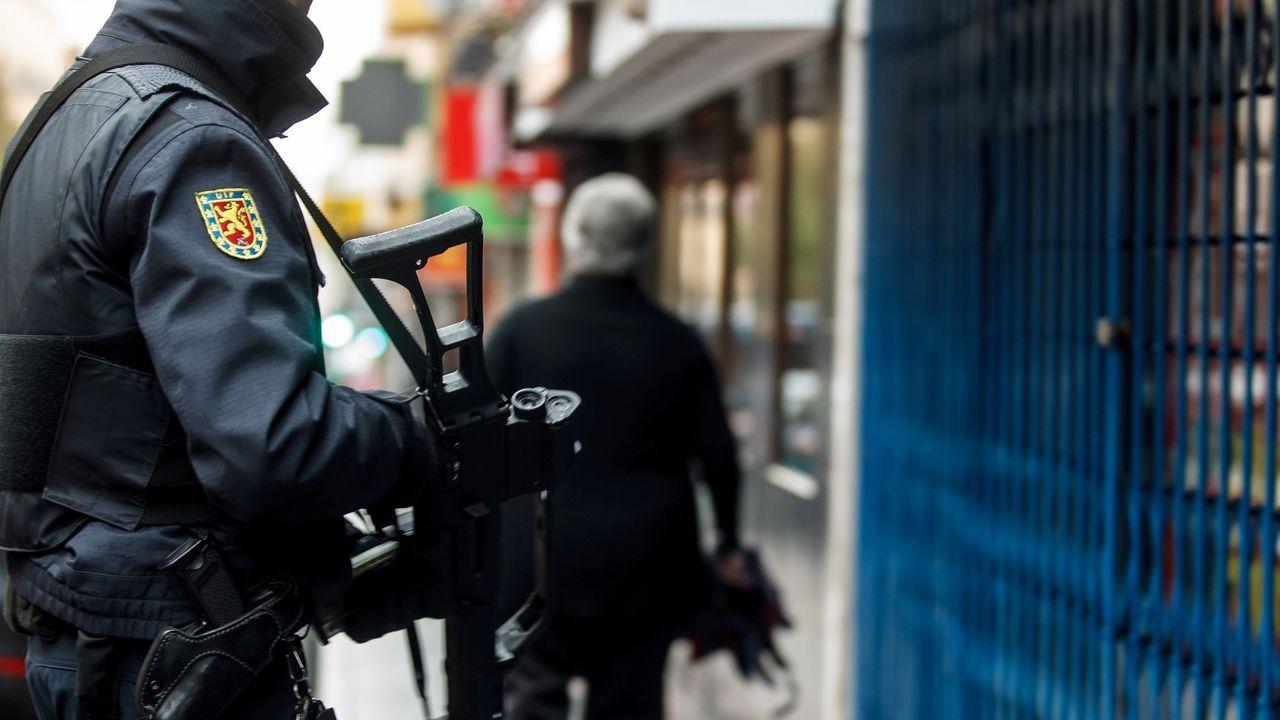 Operación policial contra el yihadismo en Madrid