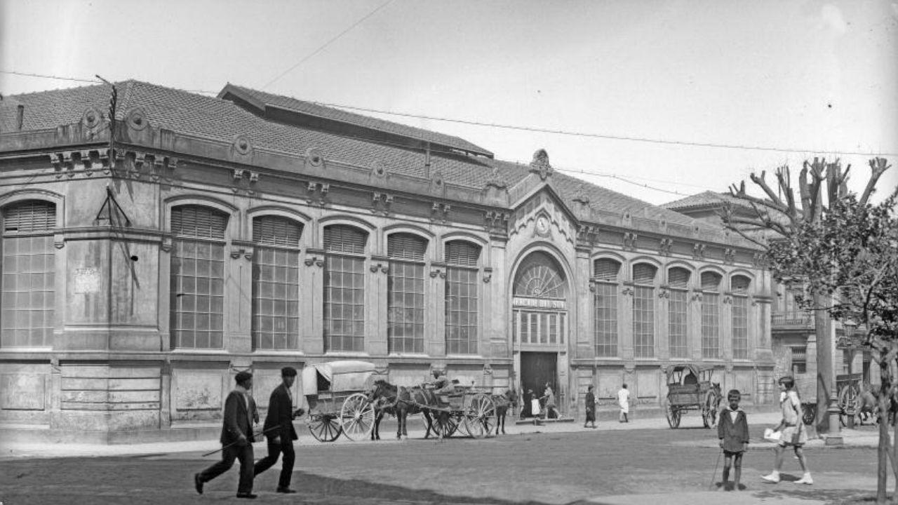 El Mercado del Sur, a principios del siglo XX