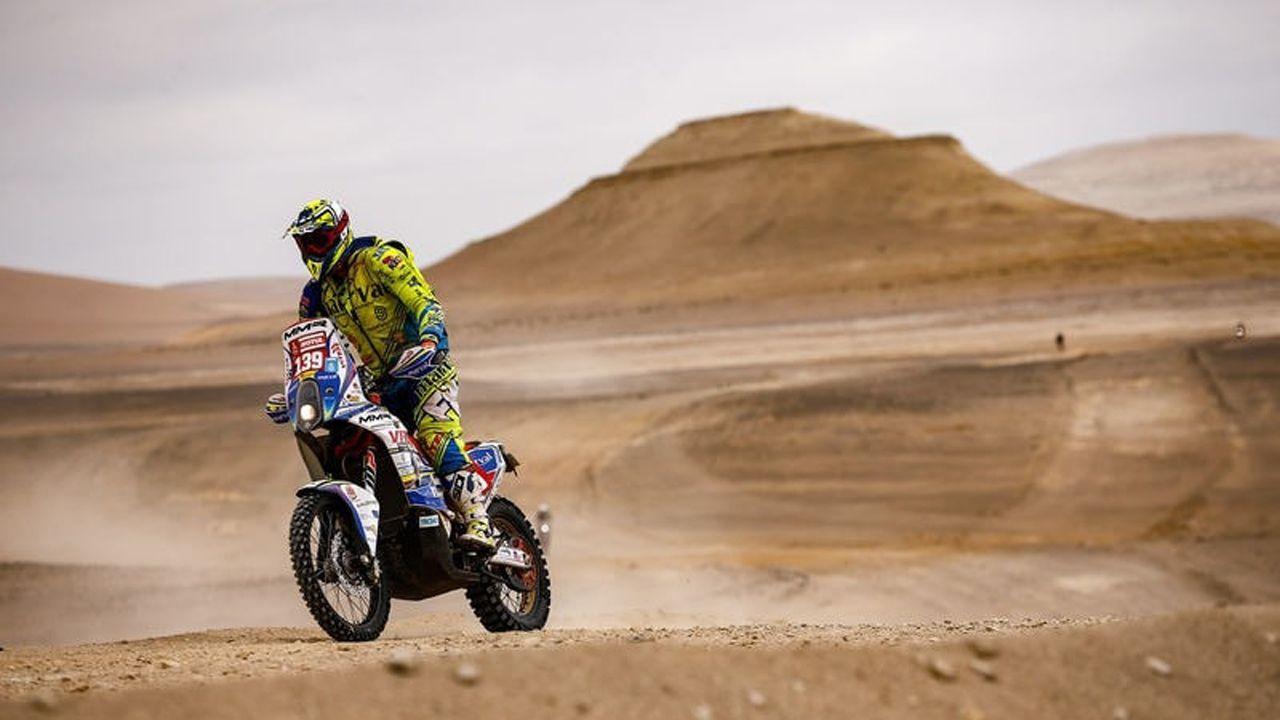 El moscón Javier Álvarez, a punto de cumplir su sueño.El piloto australiano Toby Price (KTM) definió el Rally Dakar 2019