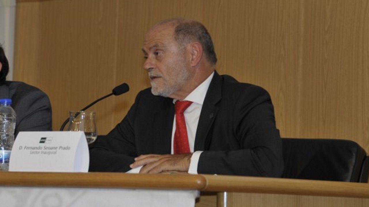Fernando Seoane Prado, primer director del Centro Asociado UNED A Coruña. Imagen de la web de UNED A Coruña