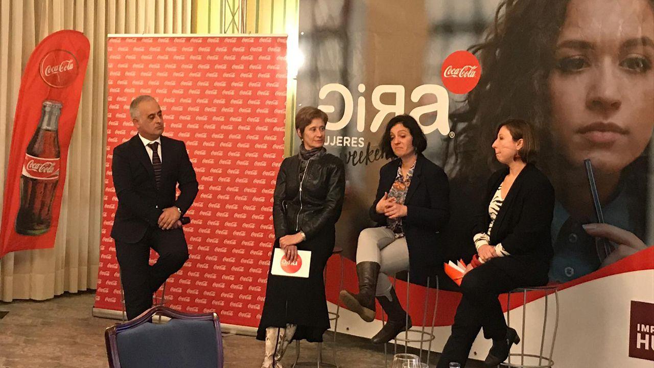 Marcos de Quinto, exvicepresidente ejecutivo de Coca-Cola, explica que llega a la política para «complicarse la vida».Presentación de la tercera edición de la GIRA Mujeres de Coca Cola, en Oviedo