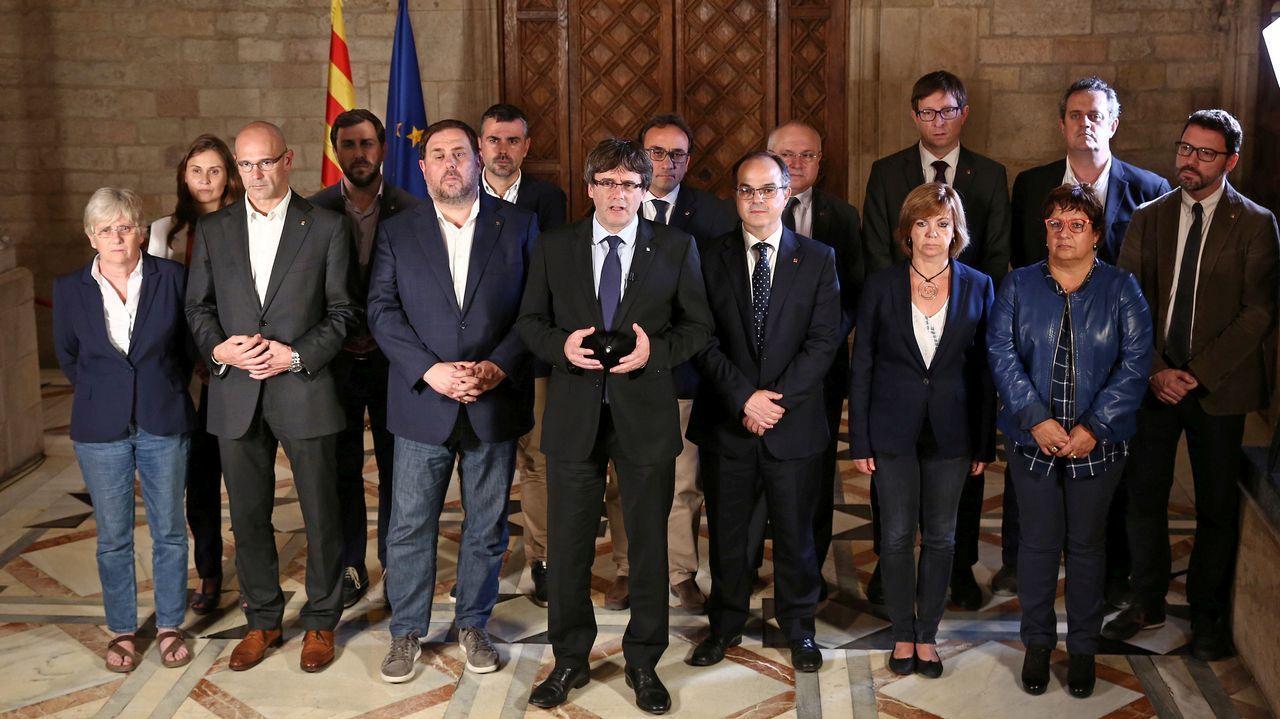 Puigdemont abre la puerta a una declaración de independencia
