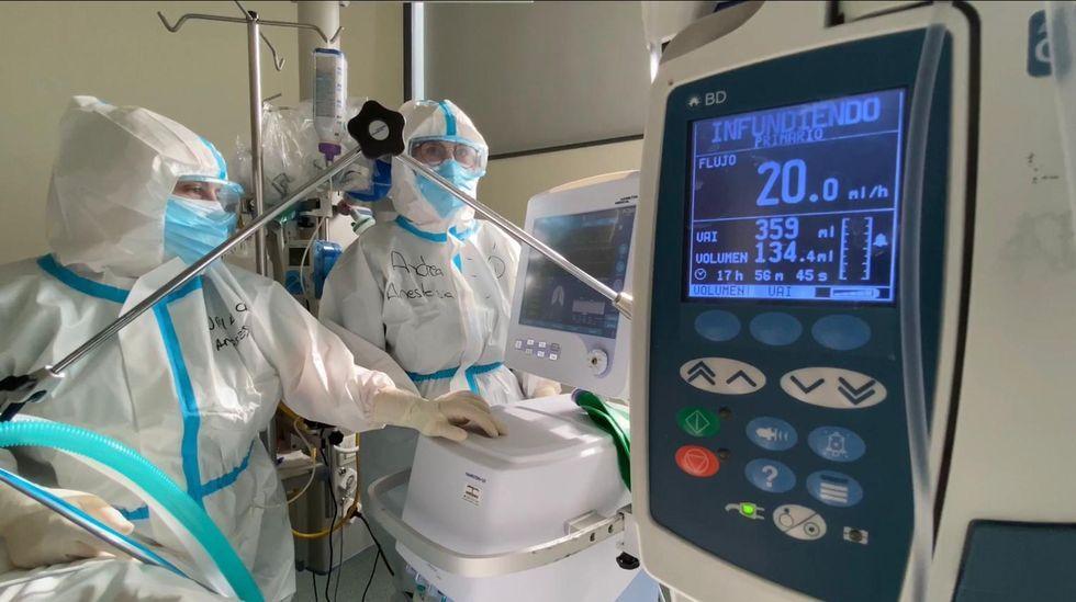 A por los de 59 y bajando en el Ifevi.En la uci-covid del CHUO hay 14 pacientes ingresados
