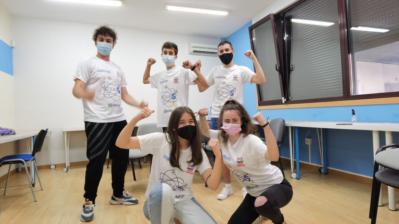 El equipo ourensano Captioma Steams gana la Lego League Galicia.A mostra «Galicia futura» foi presentada onte no Gaiás