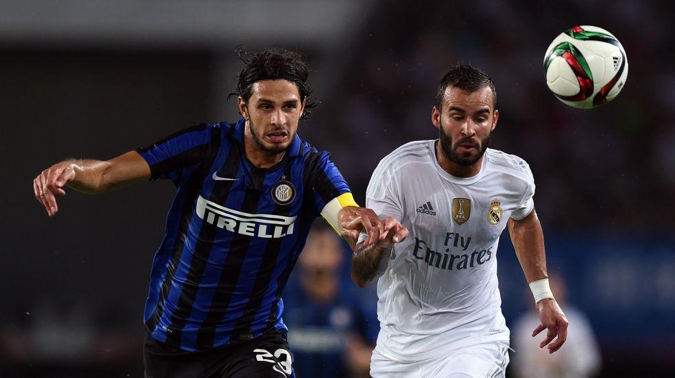 Las mejores imágenes del Inter de Milan 0-3 Real Madrid
