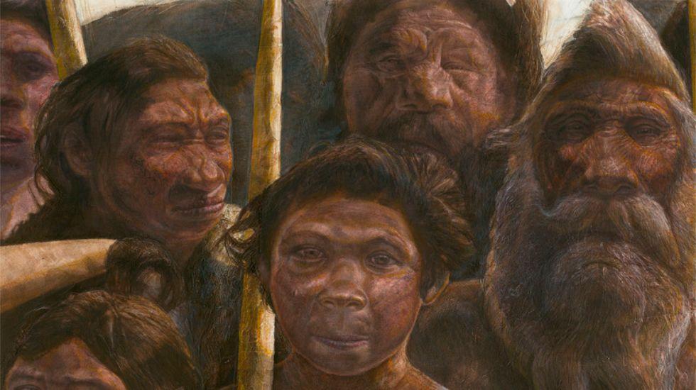 Los habitantes de Atapuerca eran parientes de los neandertales.El profesor imparte conferencias -ayer, en Medicina-, pero en verano volverá a Atapuerca.