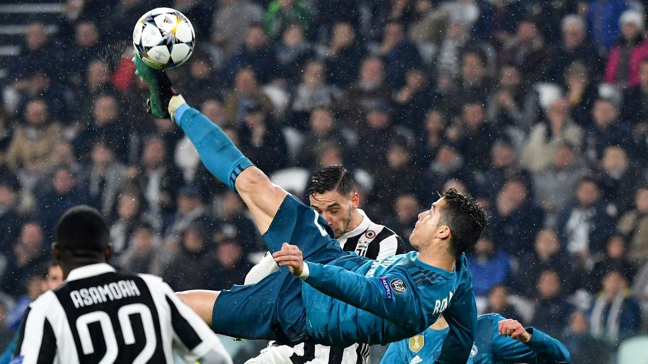 El Real Madrid - Juve en imágenes.Alineaciones del Real Madrid - Bayern