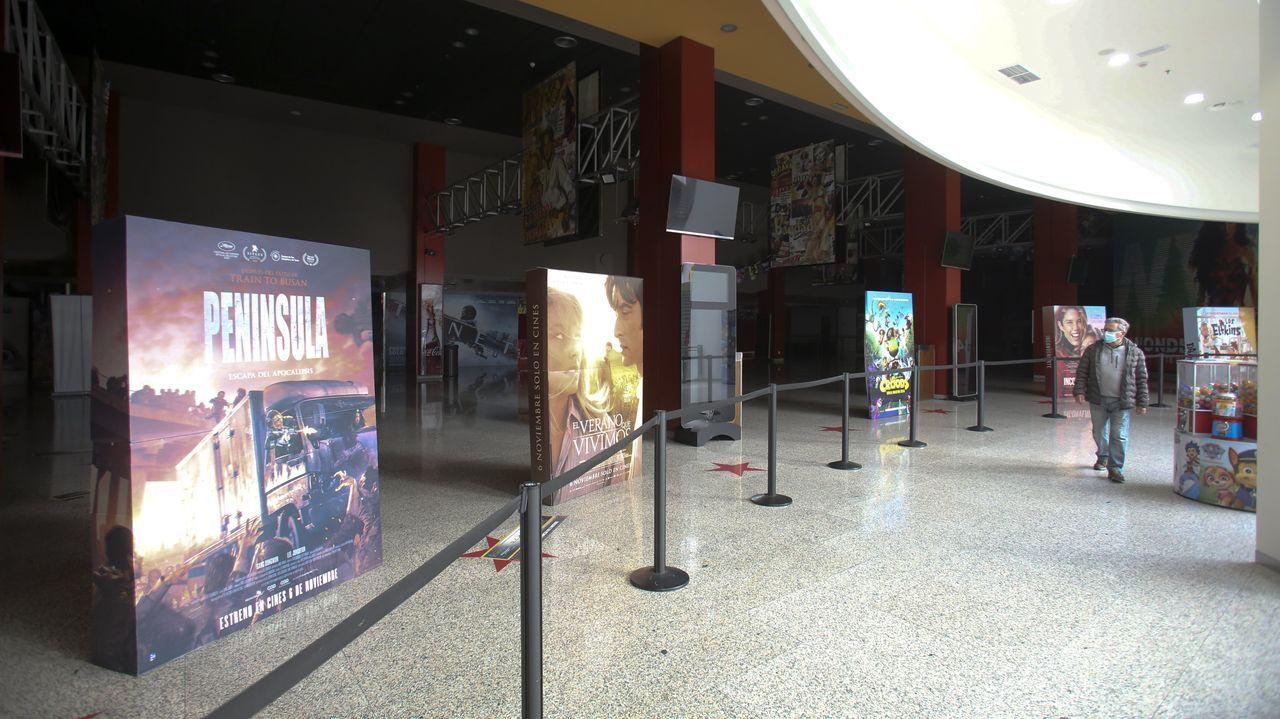 Los cines cerraron por tercera vez desde que comenzó la pandemia el pasado 11 de enero