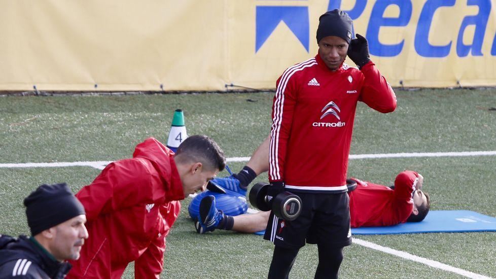 Beauvue y Marcelo Díaz ya entrenan con sus compañeros
