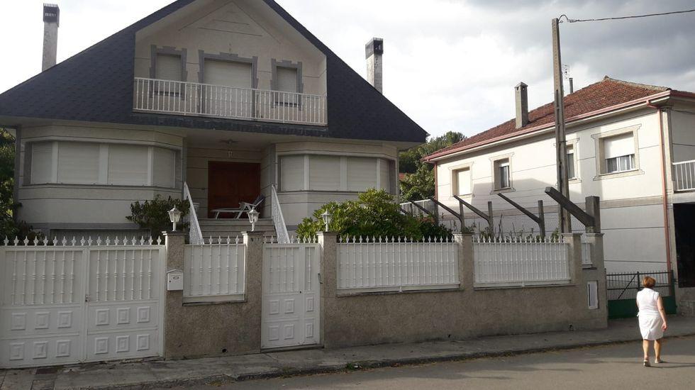 Exterior de la vivienda unifamiliar en la que se produjo el suceso