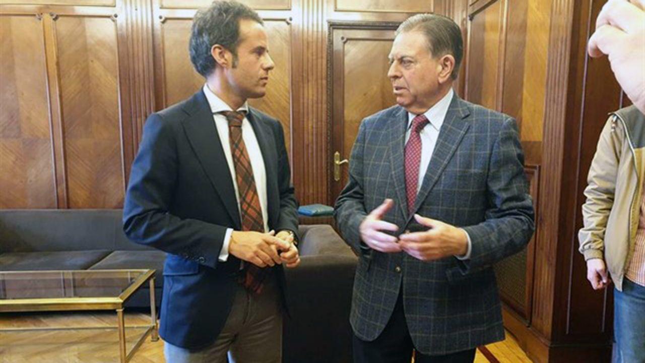 Ignacio Cuesta y Alfredo Canteli