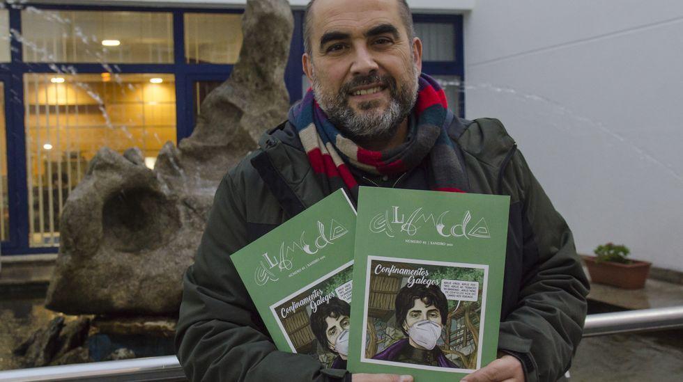 El Salón del Libro Infantil y Juvenil abre sus puertas en Pontevedra.Campo de fútbol de Campañó, en Pontevedra