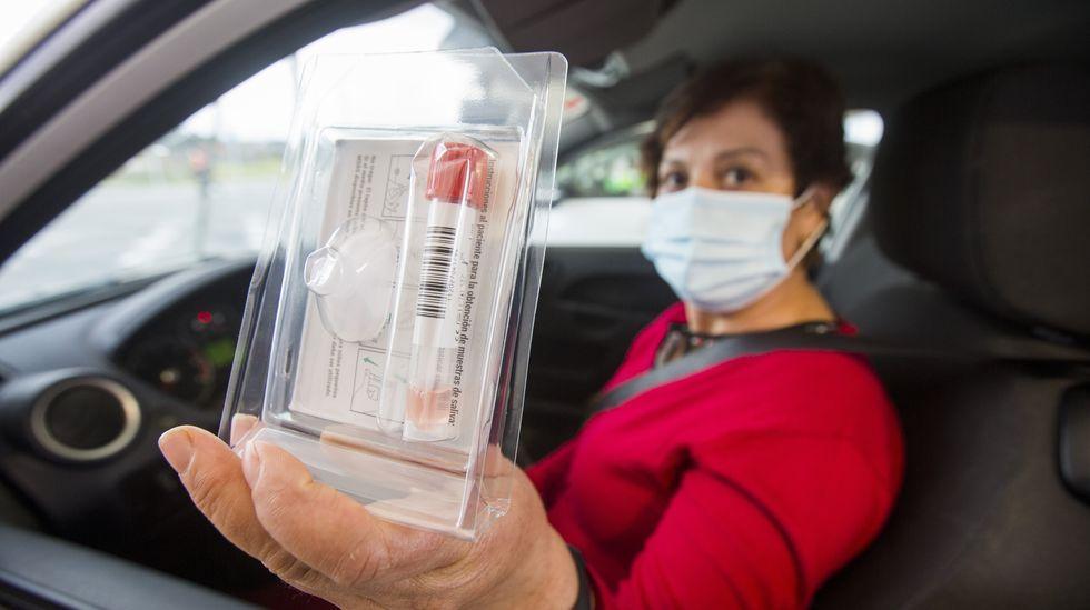 Jornada de vacunación y cribados en la Costa da Morte: las imágenes.Segunda jornada de cribado en Malpica
