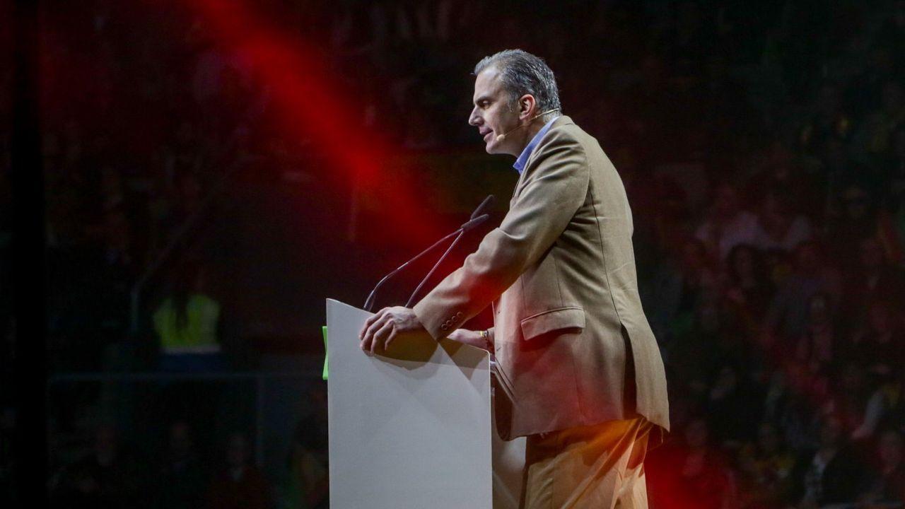 El secretario general de Vox, Javier Ortega Smith, dio positivo. Durante el acto de su partido en Vistalegre ya tenía síntomas