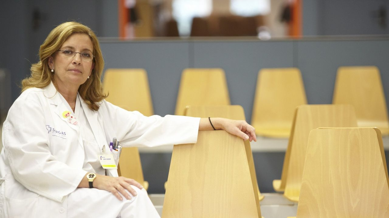 Instalaciones de la unidad de mama del Hospital Meixoeiro