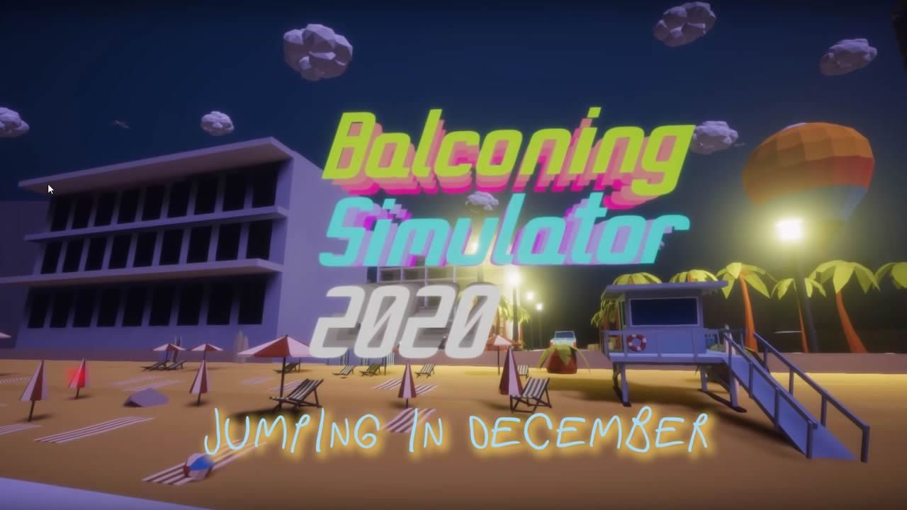 'Balconing Simulator 2020', el videojuego.La cineasta asturiana Elisa Cepedal, en el CCAI de Gijón