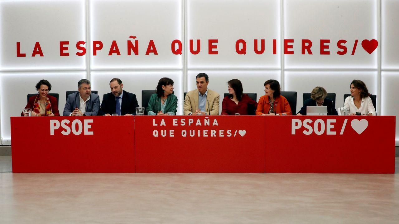 Pablo Iglesias, convencido de que formará gobierno con el PSOE.Inés Arrimadas