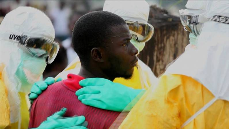 Acto contra el ébola en Costa de Marfil