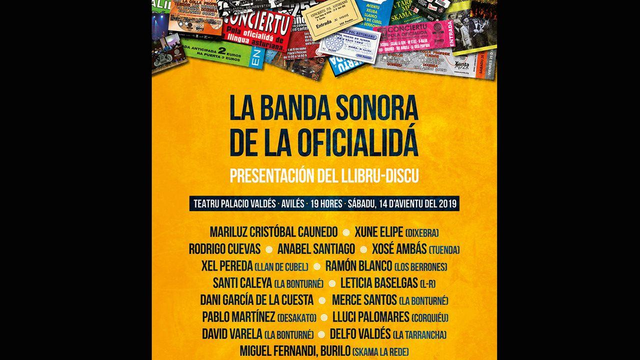 Cartel de la «Banda Sonora de oficialidá»