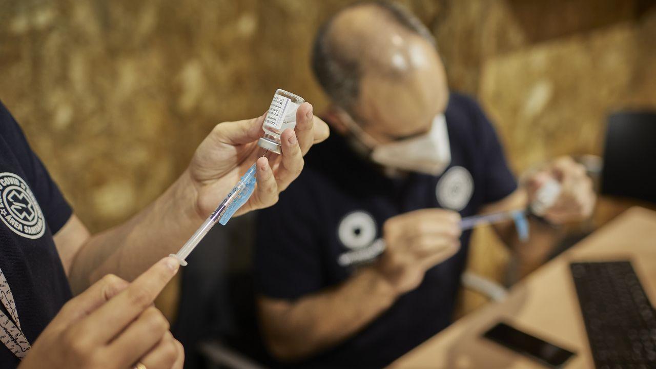 Vacunación en Ourense