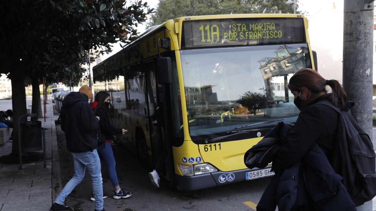 alcoa.Autobús en Ourense
