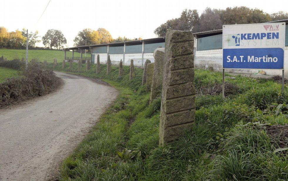 El Rali do Cocido tuvo tres pasadas la tarde del 17 de marzo del 2012 por un vial próximo a la granja.