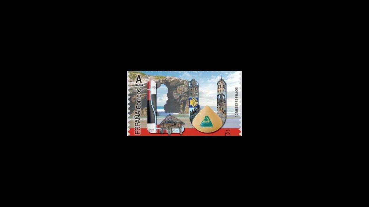 ÁLBUM: Las siete figuras de hierro que animan las calles de Navia.Aigas, una aldea de Os Ancares en la que solo vive Manuel López