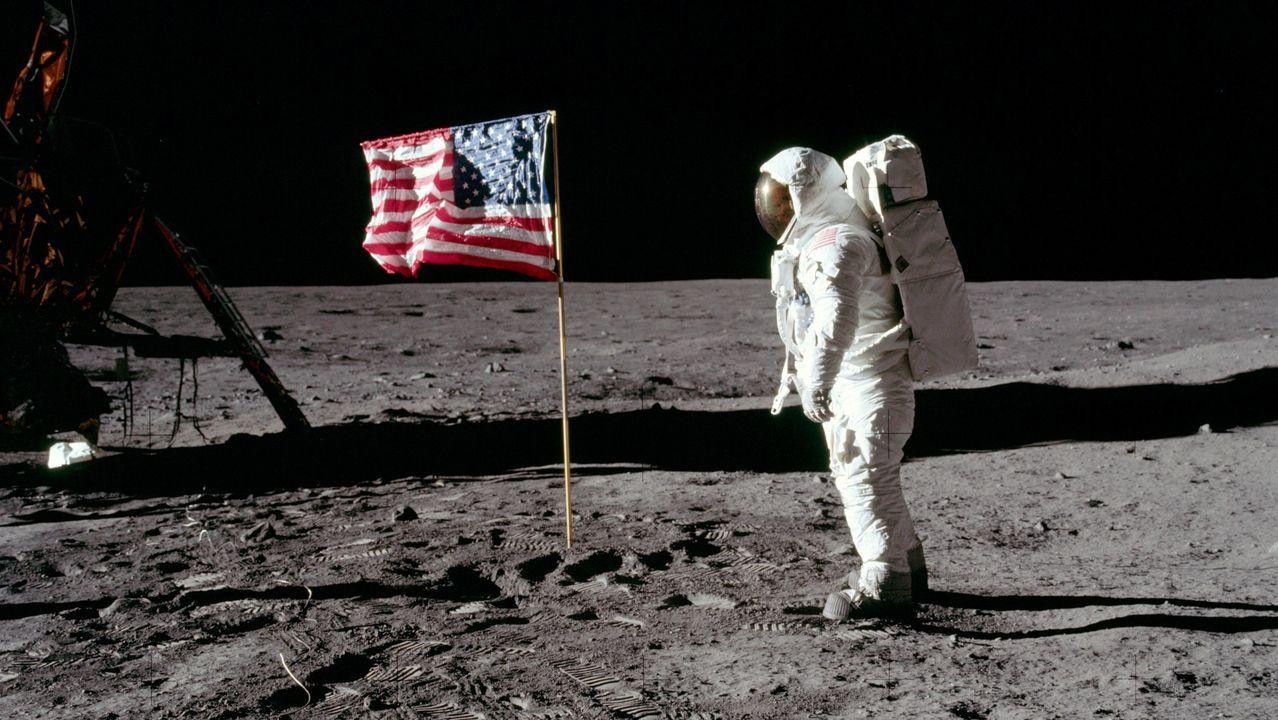 Las imágenes nunca vistas del hombre en la Luna