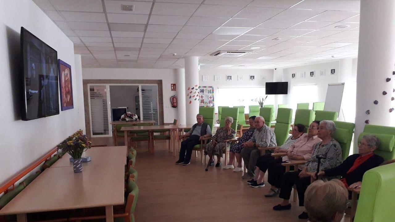 Las impactantes imágenes de la riada de Ourense.Susana López Abella, Alfonso Rueda, Nidia Arévalo y Sara Cebreiro en la presentación del programa de subvenciones para víctimas de violencia de género