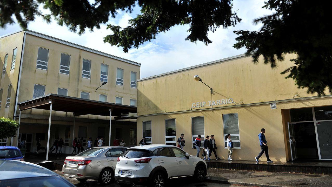 cole.Imagen de archivo de un colegio en Culleredo