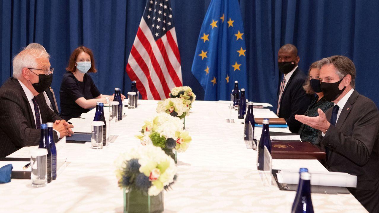Deportaciones de haitianos en la frontera de Estados Unidos.Borrell y Blinken refuerzan su alianza en una reunión en Nueva York.
