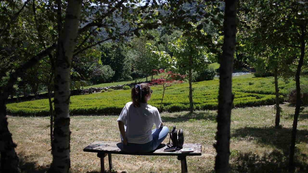 ÁLBUM: Así es el Xardín do Labirinto, en Pedrafita do Cebreiro.Juan Marsé, en una foto de archivo