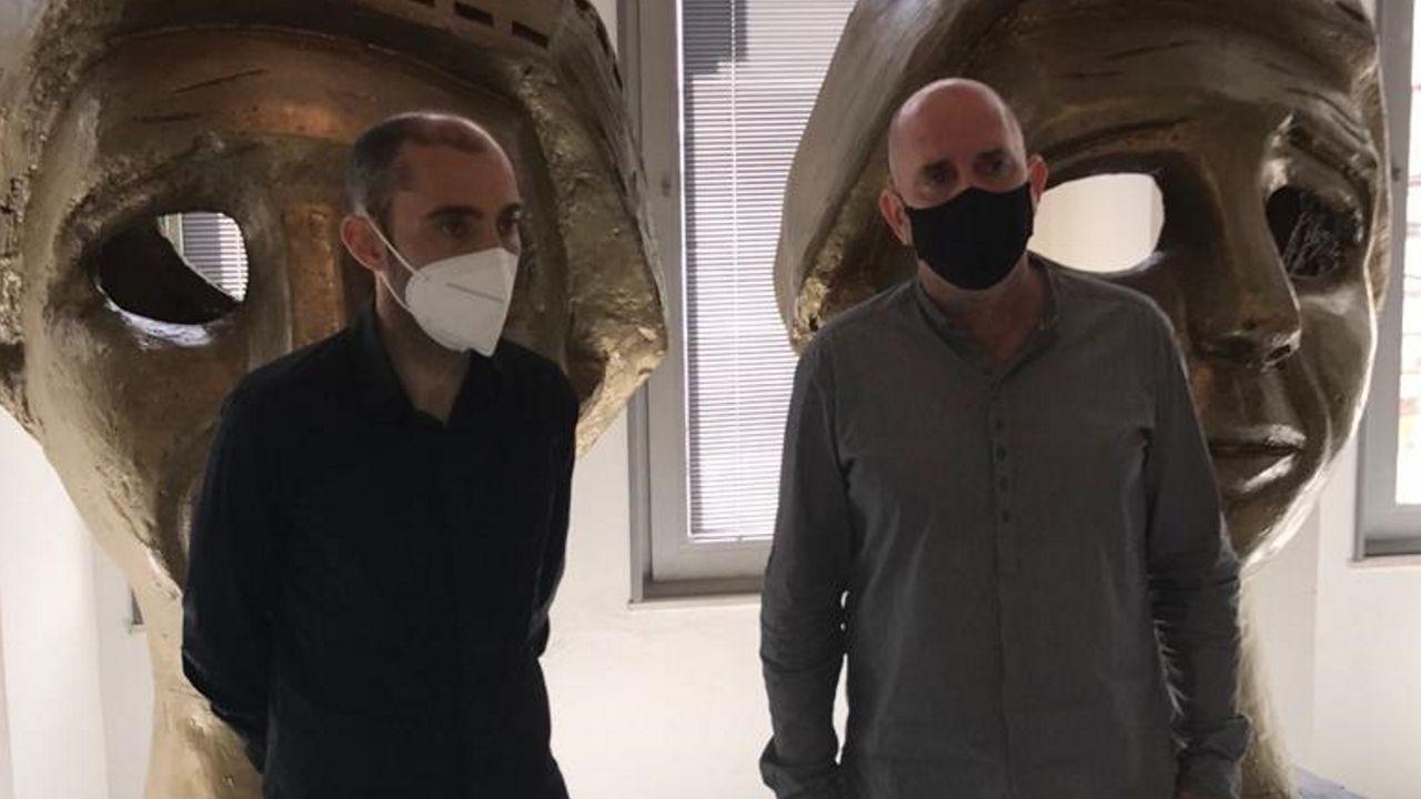 José Pérez y Nacho Carnota fueron los encargados de presentar las novedades de esta edición de la Mostra de Curtas