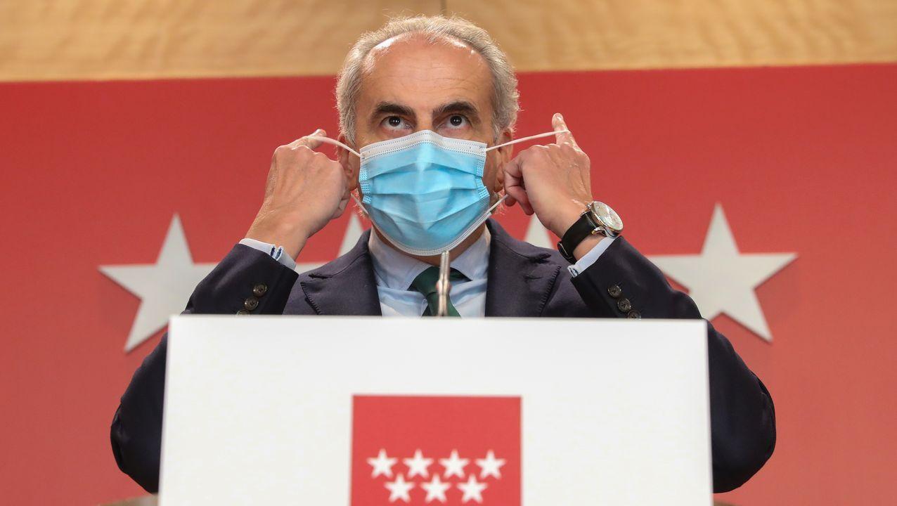 En directo, comparecencia de Pedro Sánchez sobre el coronavirus.El consejero de Sanidad de Madrid, Enrique Ruiz Escudero