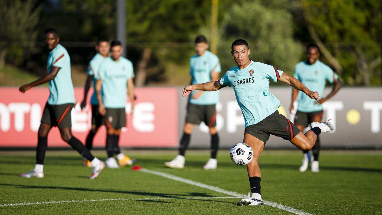 Cristiano Ronaldo en el último partido de la Juventus