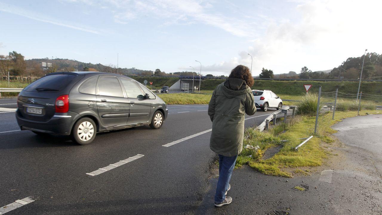 El dia después de las inundaciones en Terra de Porto