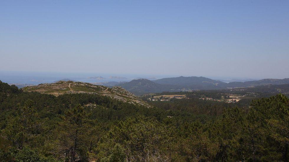Tui estrena cabañas en su parque natural.Con altitudes que superan os 600 metros, o Monte Aloia ofrece belas panorámicas