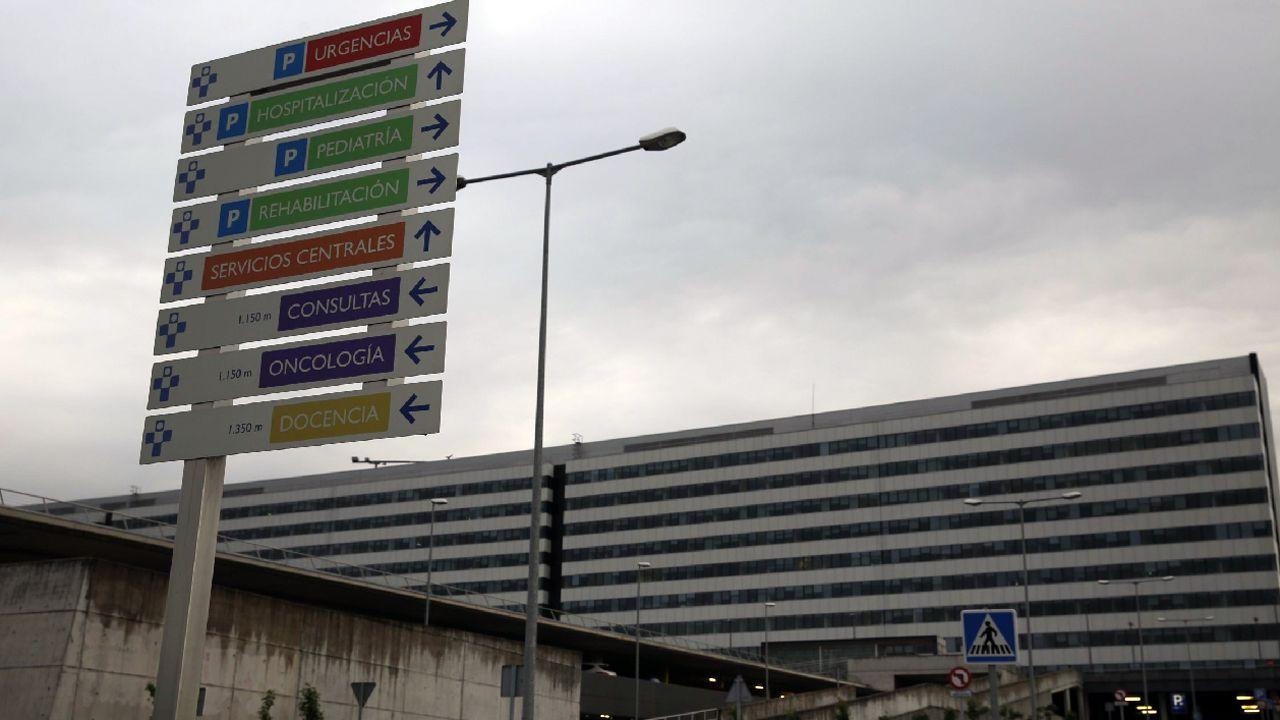 quirófano, médico, hospital, traumatólogo, Asturias, sanitario, personal sanitario.Vista del Hospital Universitario Central de Asturias (HUCA)