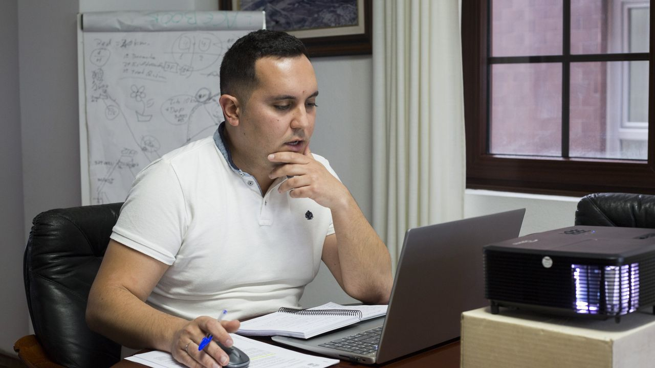 Imagen de la romería en el 2019