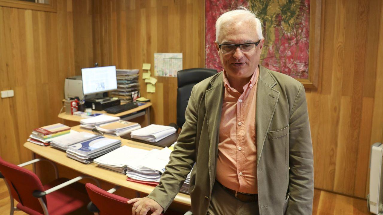 El escritor y editor Xosé Manuel Villanueva, en una imagen de archivo