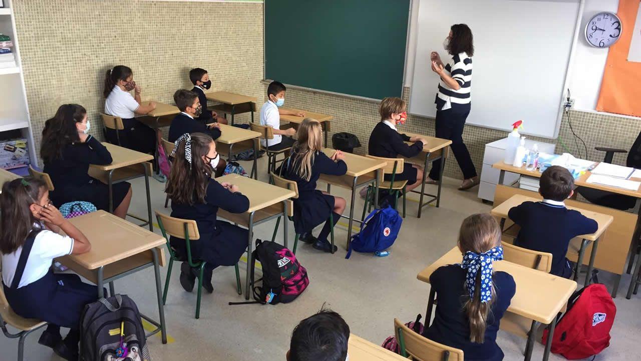 El Bergantiños-As Pontes, en imágenes.Colegio Cristo Rey de Ferrol