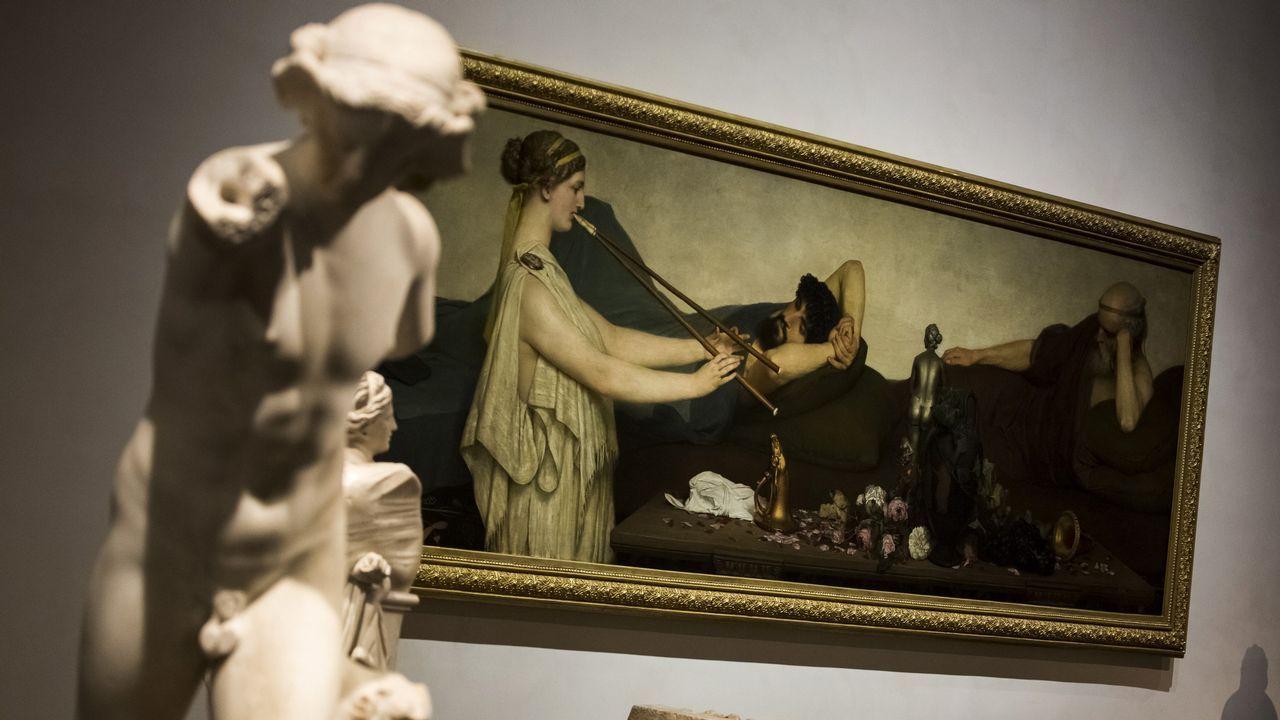 El Prado expone el cuadro «La siesta», de Lawrence Alma-Tadema.